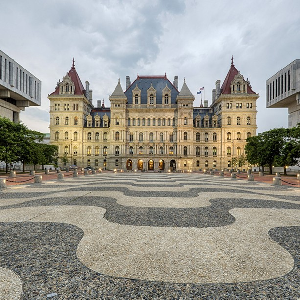 The Capitol building in Albany. - FILE PHOTO