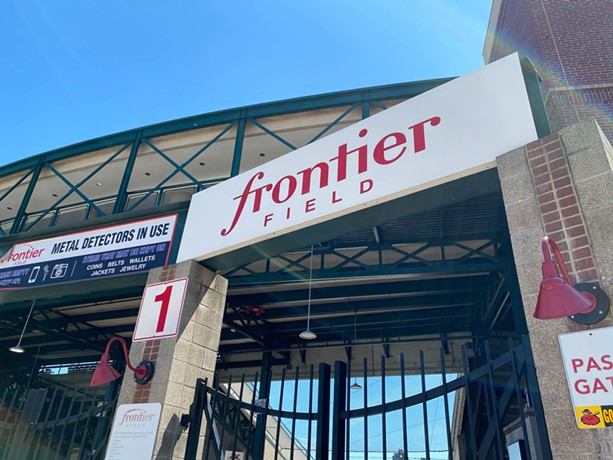 Frontier Field. - PHOTO BY JAMES BROWN / WXXI NEWS