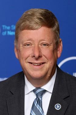 Tod Laursen, new Chair of the AIM Photonics Leadership Council. - PHOTO COURTESY SUNY.EDU