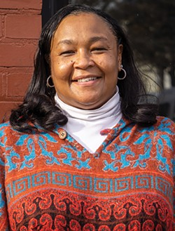 Kim Smith is a long-standing public health advocate running on the People's Slate. - PHOTO BY GINO FANELLI