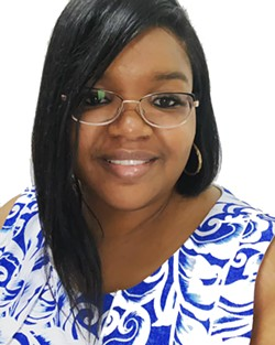 Jazzmyn Ivery-Robinson is running on a platform of community collaboration. - PROVIDED