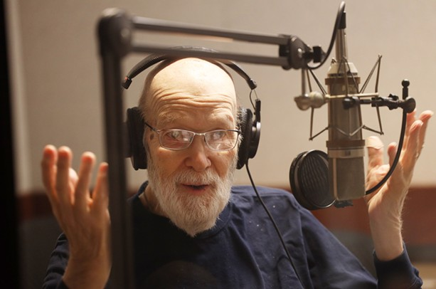 """Michael Lasser, the longtime host of the nationally-syndicated radio program """" Fascinatin' rhythm,"""" will end the show on June 26. - PHOTO BY MAX SCHULTE / WXXI NEWS"""