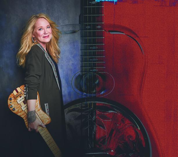"Cindy Cashdollar will play Abilene Bar & Lounge on June 26 in support of her album ""Waltz for Abilene."" - PHOTO BY SERGIO KURHAJEC"