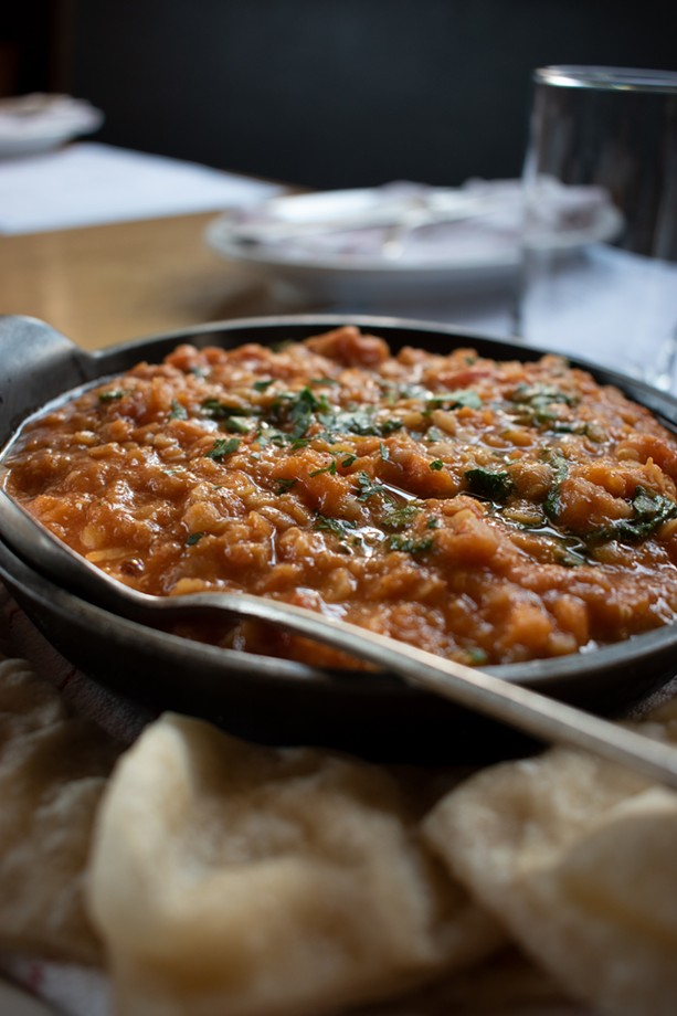 The Red Lentils from Restaurant Good Luck balances sweet with a little heat. - PHOTO BY RYAN WILLIAMSON