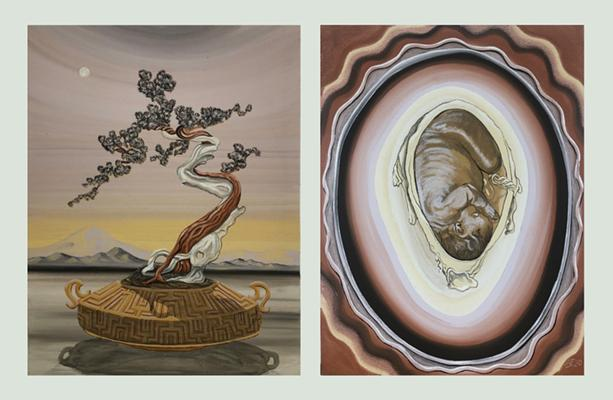 Soil paintings by Alexander Fals. - IMAGES PROVIDED