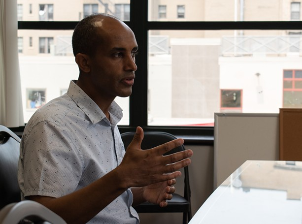 Getachew Beshir said that while refugees need help in adapting to American culture, American civil servants need just as much assistance in cultural sensitivity. - PHOTO JACOB WALSH