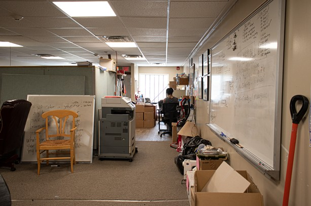 Rochester Refugee Resettlement is run out of a small house space on Lexington Avenue. - PHOTO BY JACOB WALSH