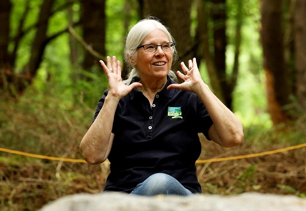 Loren Penman is one of the co-founders of the at the Autism Nature Trail at Letchworth State Park. - PHOTO BY MAX SCHULTE