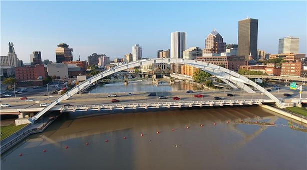 The Rochester skyline. - PHOTO BY MAX SCHULTE