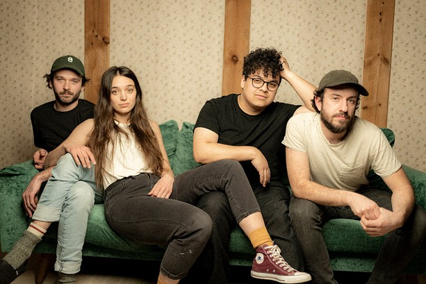 Justin Bartlett, Carly Kraft, Manuel Camacho, and Kevin O'Connell of Coral Moons play the Bug Jar on Thursday, Aug. 19. - PHOTO BY TATIANA ARIOLA