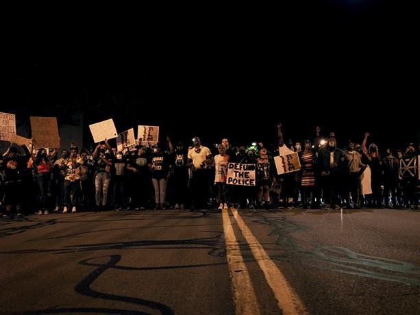 """Rochester New York in Protest (Rochester, New York),"" a 2020 photograph from Joshua Rashaad McFadden's ""Unrest in America: Daniel Prude"" portfolio. - PHOTO PROVIDED"