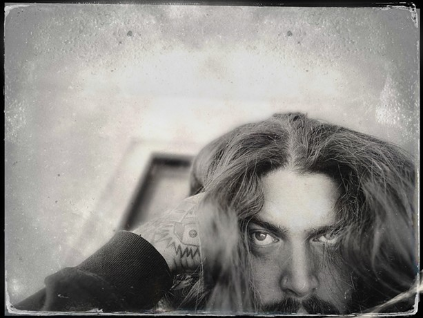 As Amigo the Devil, singer-songwriter Danny Kiranos writes murderous haunted ballads with a fine line between love and death.  - PHOTO BY PAMELA PONDEROSA