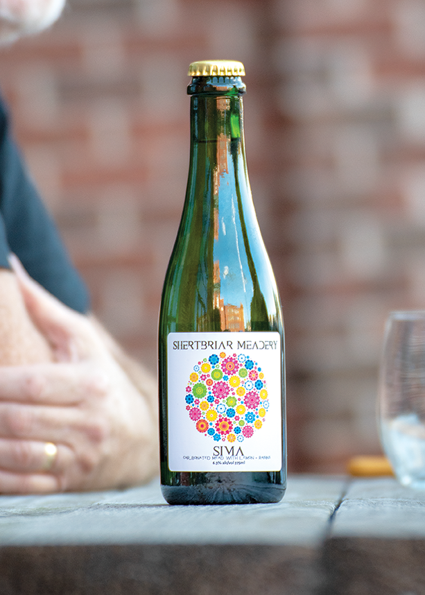 Shertbriar's Sima is a Finnish-style mead brimming with notes of citrus and zest. - PHOTO BY RYAN WILLIAMSON
