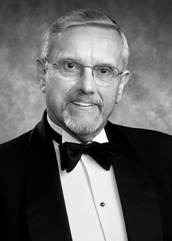Roger Wilhelm, who died Oct. 3 at 84, was a titan of the Rochester choral music community. - PHOTO PROVIDED