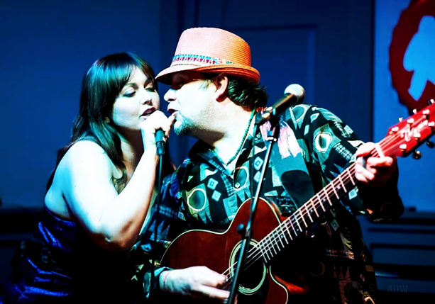 Mary Monroe and Nate Coffey perform together. - PHOTO PROVIDED