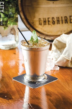 A Mint Julep at Cheshire. - PHOTO BY MARK CHAMBERLIN