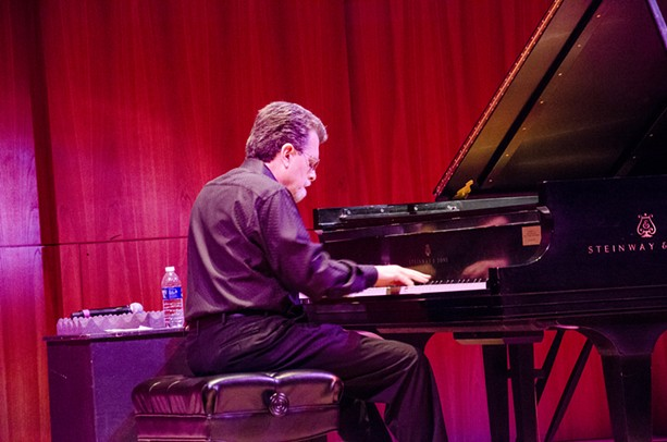Bill Dobbins performed a tribute to Strayhorn at Hatch Recital Hall as part of the 2015 Xerox Rochester International Jazz Festival. - PHOTO BY MARK CHAMBERLIN