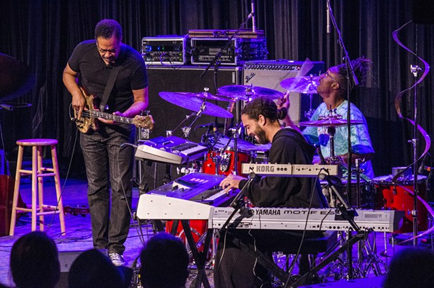 Stanley Clarke performed in Xerox Auditorium on Thursday, June 25. - PHOTO BY MARK CHAMBERLIN