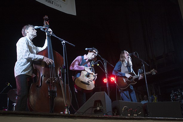The Wood Brothers performed in Harro East Ballroom on the final night of the 2015 Xerox Rochester International Jazz Festival. - PHOTO BY ASHLEIGH DESKINS