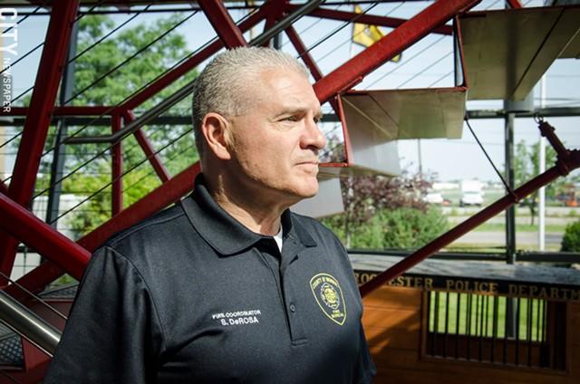 Sam DeRosa, Monroe County fire coordinator. - PHOTO BY MARK CHAMBERLIN