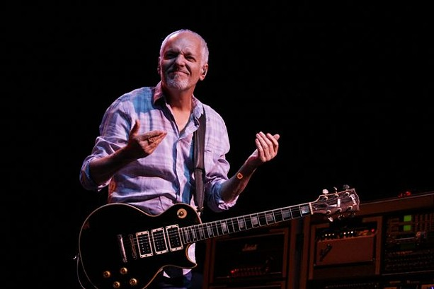 Peter Frampton performed with Cheap Trick at CMAC on Saturday, July 11. - PHOTO BY FRANK DE BLASE