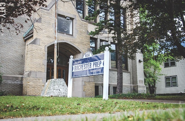 An expansion is planned for True North Rochester Preparatory Charter School. - PHOTO BY MARK CHAMBERLIN