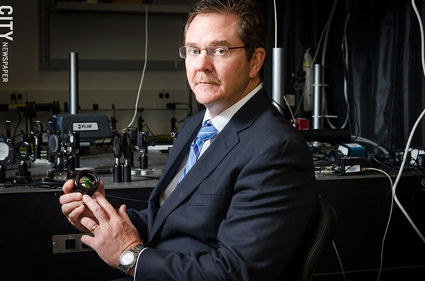 Rob Clark, University of Rochester's senior vice president for research. - PHOTO BY MARK CHAMBERLIN