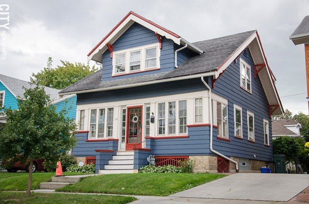 The 19th Ward Community Association will hold its house tour from noon to 4 p.m. on Saturday, October 17. - PHOTO BY MARK CHAMBERLIN