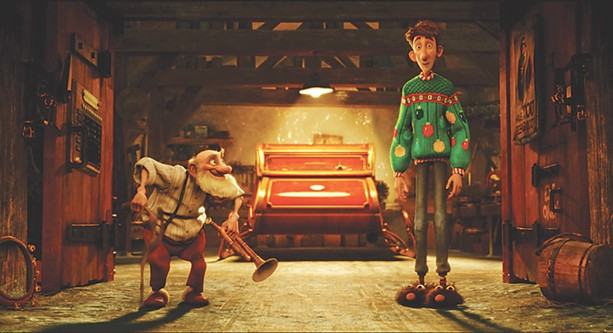 Arthur Christmas - PHOTO COURTESY SONY PICTURES