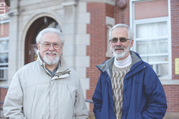 John Boutet (left) and John Laing. - PHOTO BY MIKE HANLON