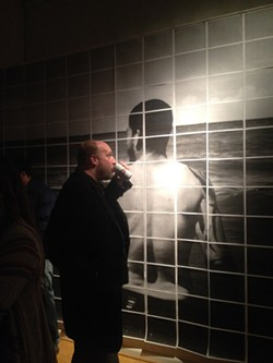 Part of John Lake's photo installation at Axom Gallery. - PHOTO BY REBECCA RAFFERTY