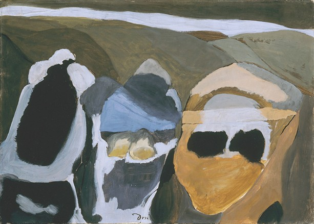 "Arthur Dove, ""Cars in a Sleet Storm,"" Memorial Art Gallery collection - PHOTO PROVIDED"