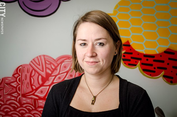 Celeste Kidd is a researcher and one of the lab's co-directors. - PHOTO BY MARK CHAMBERLIN