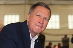 John Kasich, Ohio governor and GOP presidential contender. - PHOTO BY CHRISTINE CARRIE FIEN