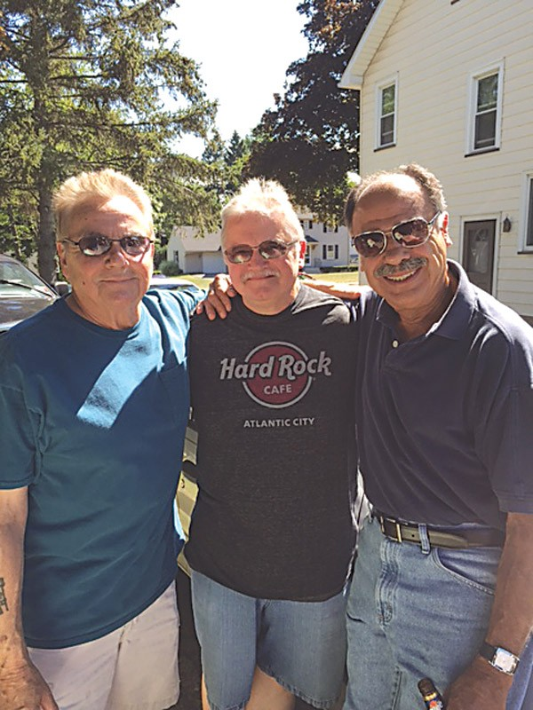 Three of the remaining Rustix members today: (from left to right) Chuck Brucato, Vinnie Strenk, and David Colon. - PROVIDED PHOTO