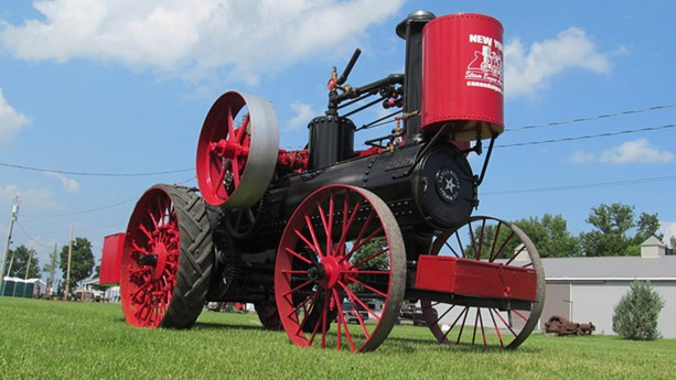 The New York Steam Engine Association's Pageant of Steam celebrates the machines of the 19th Century. - PHOTO PROVIDED