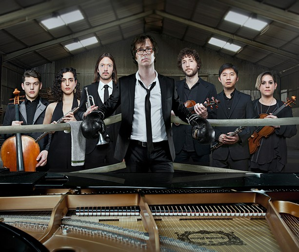 Ben Folds will perform with yMusic at Artpark on Wednesday, July 13. - PHOTO BY ALLAN AMATE