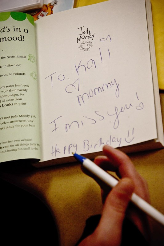 Through the Storybook Project, incarcerated parents can connect with their children via recorded readings of books, which are sent to the kids each month. - PHOTO BY JULIE GELFAND