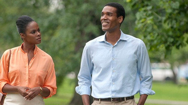 "Parker Sawyers and Tika Sumpter in ""Southside With You."" - PHOTO PROVIDED BY ROADSIDE ATTRACTIONS"