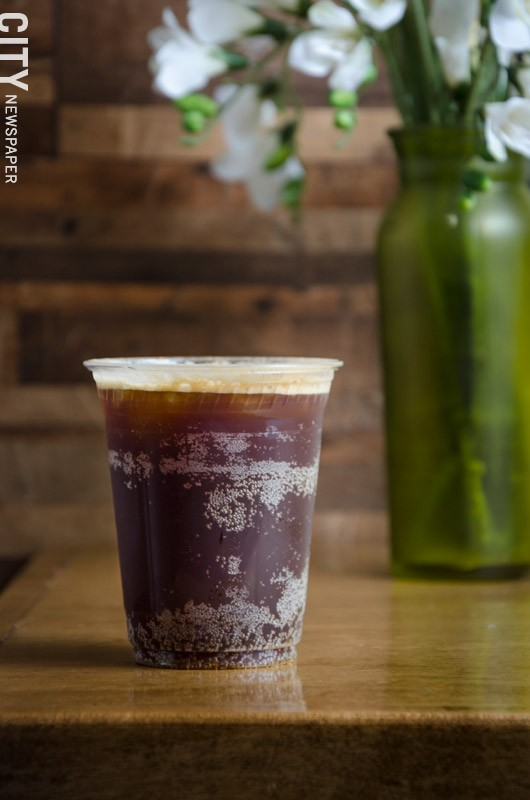 The Carbonated iced espresso  made with Fizz Cola. - PHOTO BY MARK CHAMBERLIN