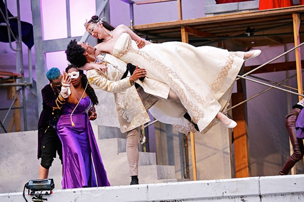 """Monte was inspired by video games and anime when she designed the costumes for """"Romeo and Juliet,"""" last year's RCP Shakespeare in the Park production. - PHOTO BY ANNETTE DRAGON"""