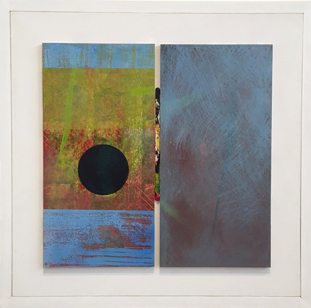 """Paul Garland's """"In This,"""" part of his solo exhibition """"Turning Fifty"""" at AXOM Gallery. - PHOTO PROVIDED"""