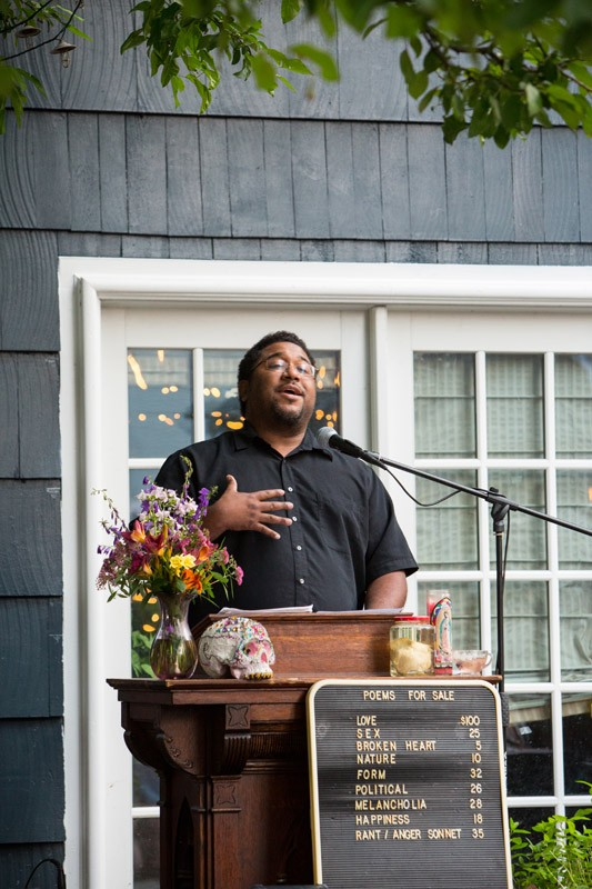 Poetry & Pie Night is exactly what it sounds like: a night of guest poets and a potluck of pies. - FILE PHOTO