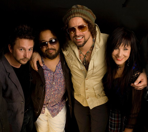 Rusted Root - PHOTO BY JOHN COLLINS