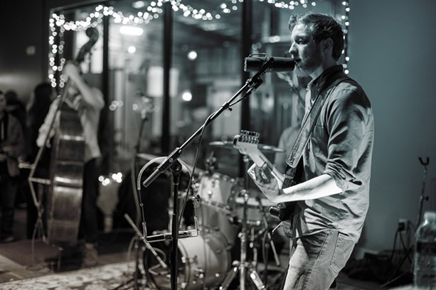 Aaron Lipp will perform with his band, The Slack Tones, at Three Heads Brewing on June 24. - PROVIDED PHOTO