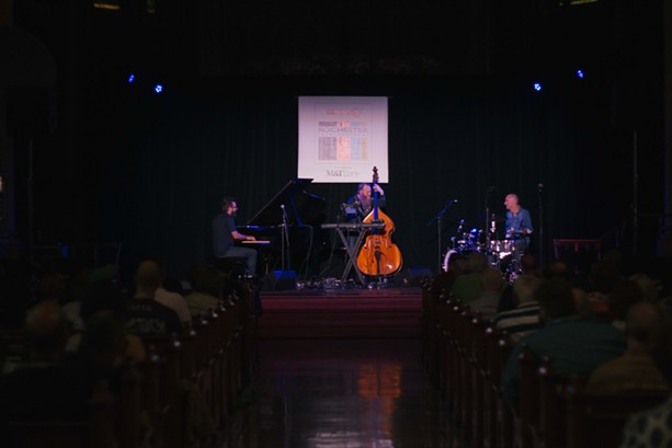 The Neil Cowley Trio performed at Christ Church on Saturday. - PHOTO BY KEVIN FULLER
