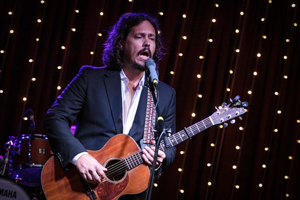 John Paul White played Anthology Sunday. - PHOTO BY FRANK DE BLASE