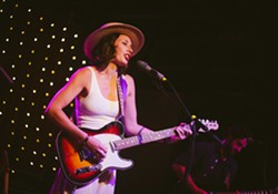 Lera Lynn played Anthology on Monday night. - PHOTO BY KEVIN FULLER