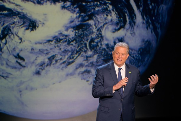 "Al Gore gives good presentation in ""An Inconvenient - Sequel: Truth to Power."" - PHOTO COURTESY PARAMOUNT PICTURES AND PARTICIPANT MEDIA"