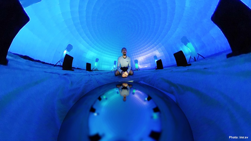 """3D Sound Experience"" - PHOTO COURTESY KEYBANK ROCHESTER FRINGE FESTIVAL"